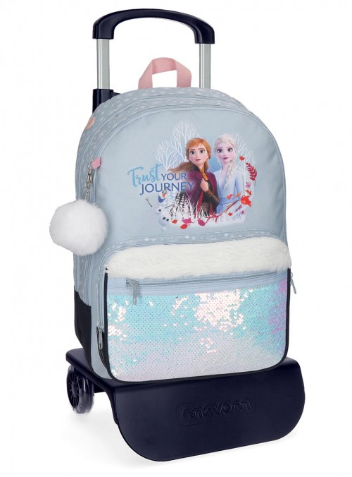 25424N1 mochila carro 42 cm frozen II rust your journey