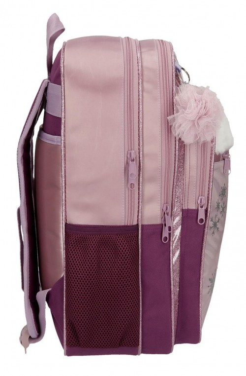 2552461 mochila doble  de 42 cm frozen II destinity awaits lateral