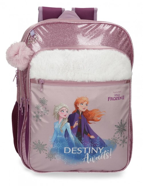 2552461 mochila doble adaptable de 42 cm frozen II destinity awaits