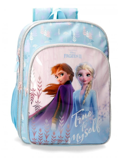 4762461 mochila doble c. 42cm true to myself frozen