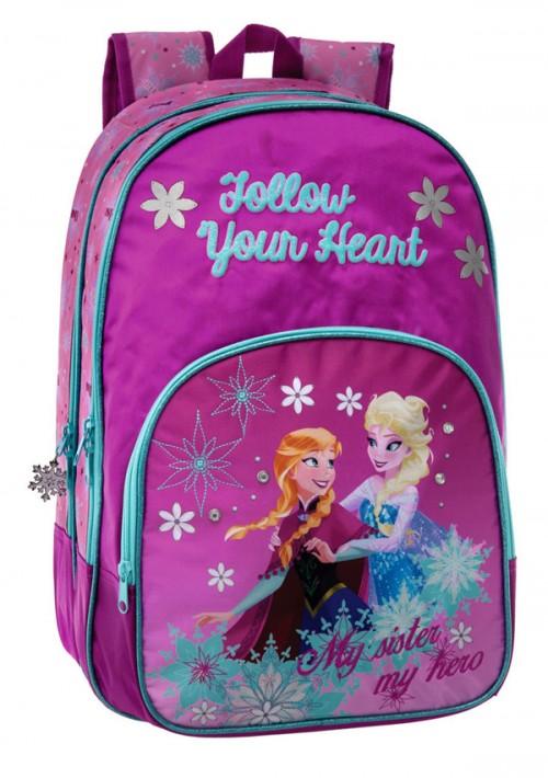 mochila adaptable doble Anna y Elsa 2262451