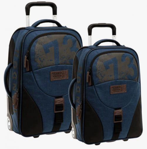 6299251 Set 2 Trolleys Soft 50-60 cm Pepe Jeans