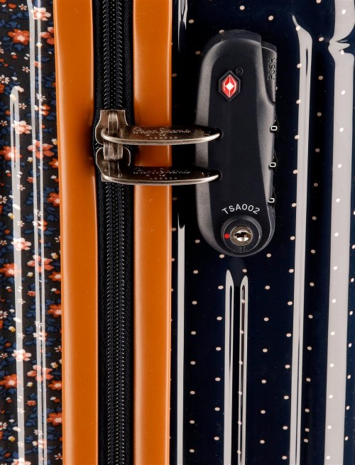 Maleta de Cabina Pepe Jeans Nancy 7017761 cerradura TSA