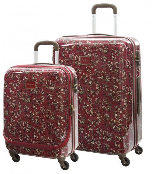 7539851 Set 2 Trolleys Cabina y Mediano Pepe Jeans