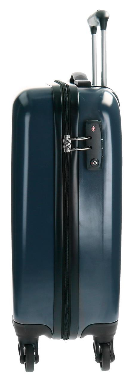 Maleta de Cabina ABS Pepe Jeans Basic 7811751 cerradura TSA