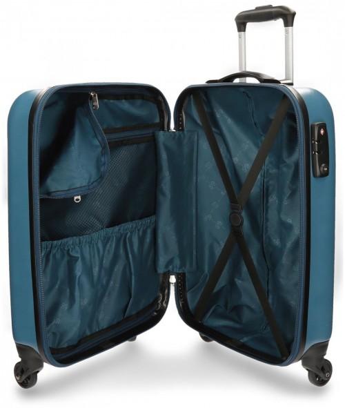 Maleta de Cabina ABS Pepe Jeans Basic 7811751 cerradura TSA  interior