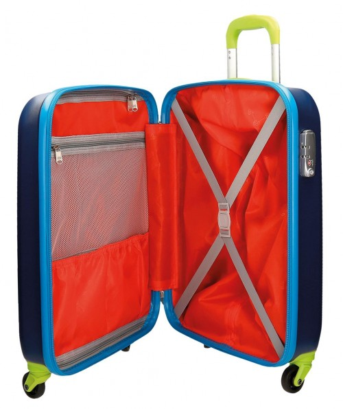 Trolley Pepe Jeans Cabina  Tricolor 7868751 interior