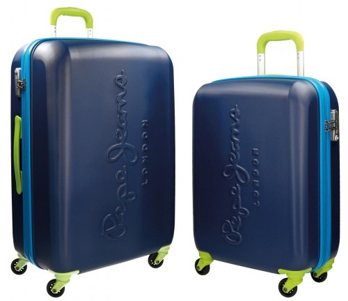 Set 2 Trolleys Pepe Jeans Tricolor 7868951