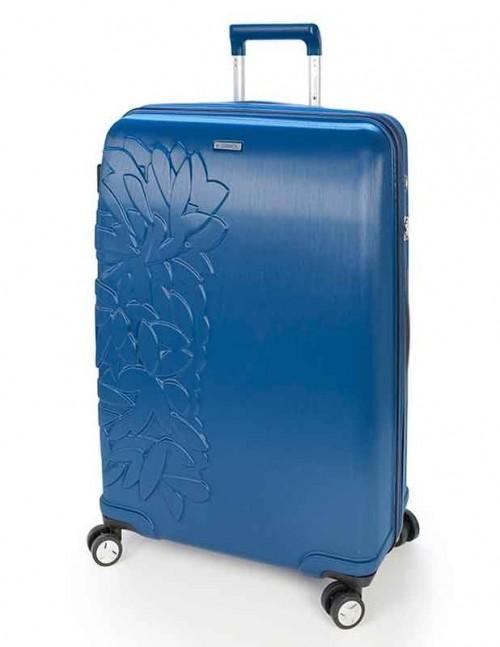 Maleta Grande de  Gabol Bloom Azul 11614703