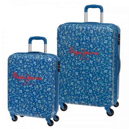 juego 2 maletas pepe jeans 6037951