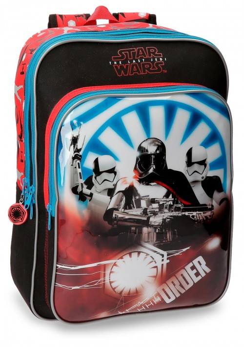 42223B1 mochila doble adaptable star wars the last jedi