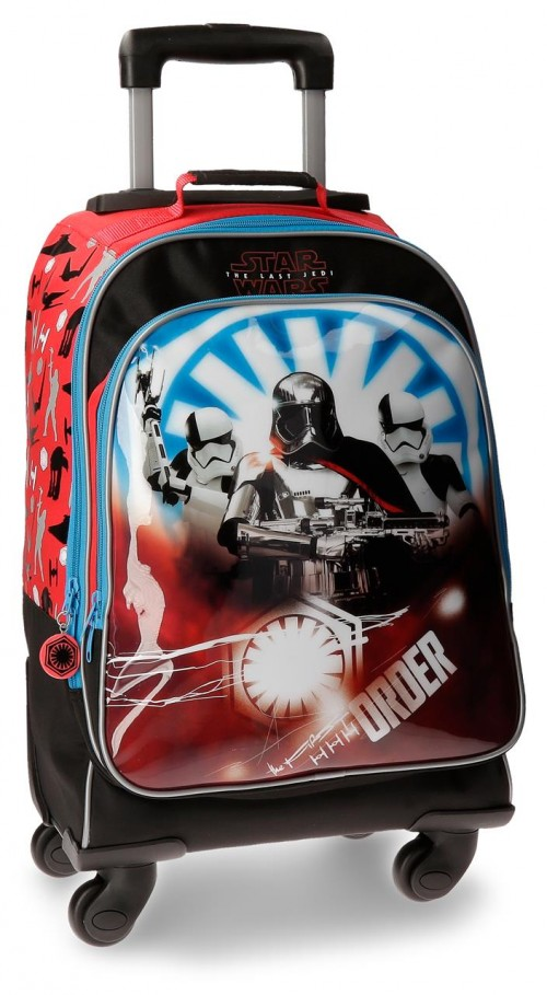 4222861 mochila 4 ruedas star wars the last jedi