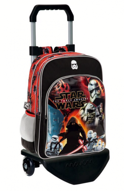 Mochila Carro    Star Wars  25924M1 Doble Compartimento