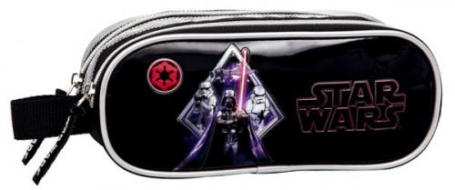 estuche 2 compartimentos star wars 2194251