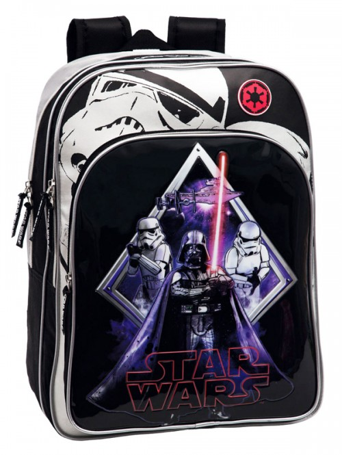 mochila grande star wars 2192451 adaptable a carro