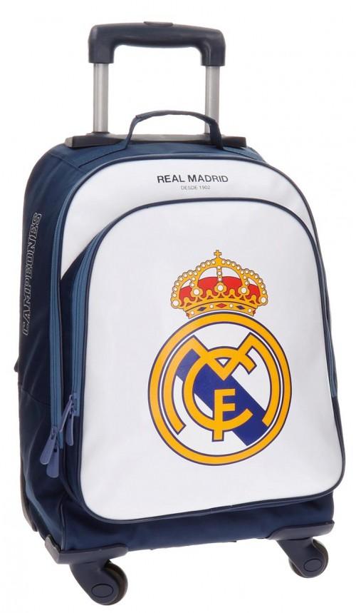 Mochila de 4 Ruedas Reforzada del Real Madrid 4952851