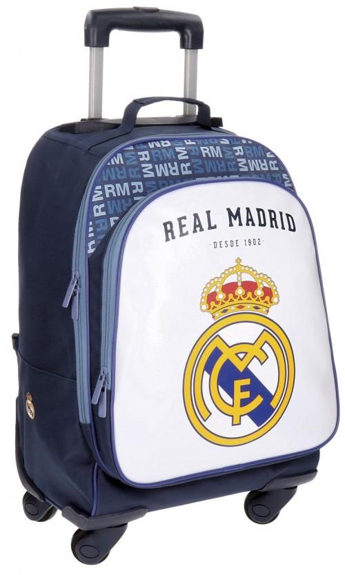 Mochila  4 Ruedas Reforzada del Real Madrid champions  35632853