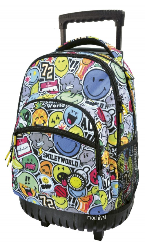 Mochilas Smiley Reforzadas 561006
