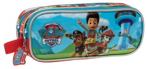 Estuche 2 doble Paw Patrol Jumping 2344251