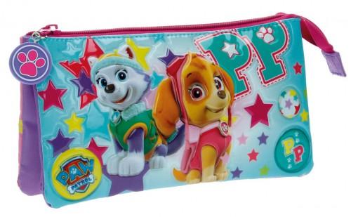 2714351 Portatodo Triple Paw Patrol Girl Pup