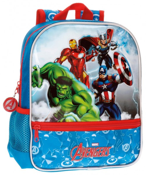 21121B1 mochila 28 cm adaptable avengers clouds