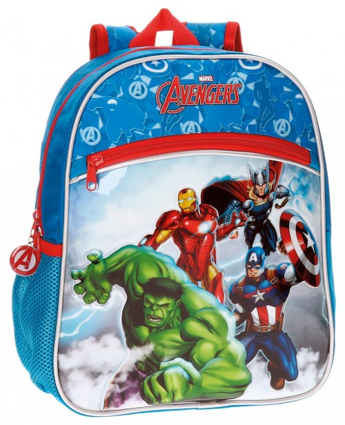 21122B1 mochila 33 cm adaptable avengers clouds
