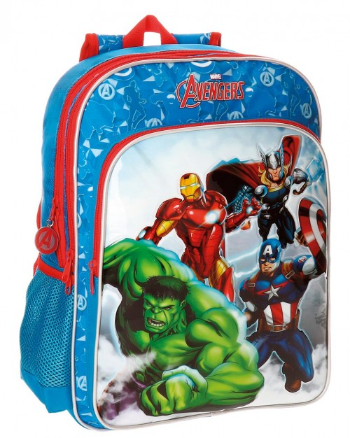 21124B1 mochila 40 cm adaptable avengers clouds