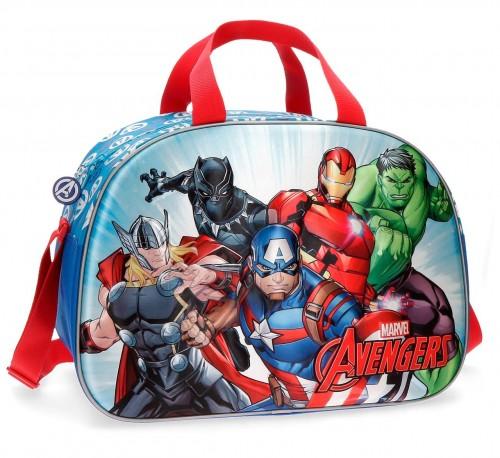 4393261 bolsa de viaje 40 cm avengers team efecto 3d