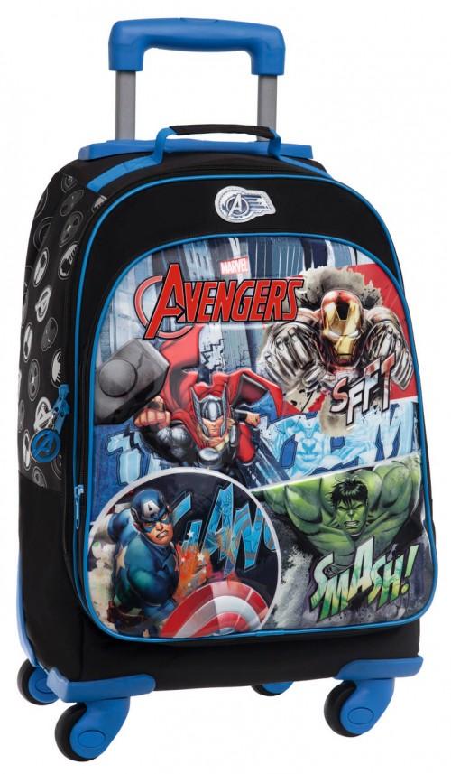 Mochila 4 Ruedas Avengers Streeet 2432851