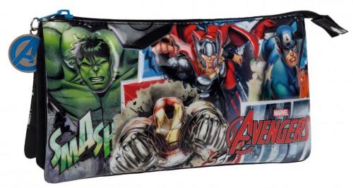 Portatodo 3 Compartimentos Avengers Streeet 2434351