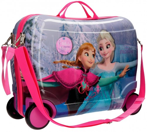 20799C1 maleta infantil 4 ruedas frozen magic