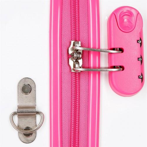 2421061 maleta correpasillos 41 cm Sparkle Frozen cerradura combinación
