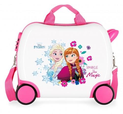 2421061 maleta correpasillos 41 cm Sparkle Frozen