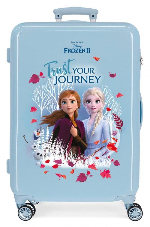 2541561 maleta mediana frozen II trust your journey