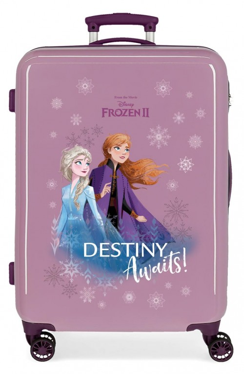 2551561 maleta mediana frozen II destinity awaits