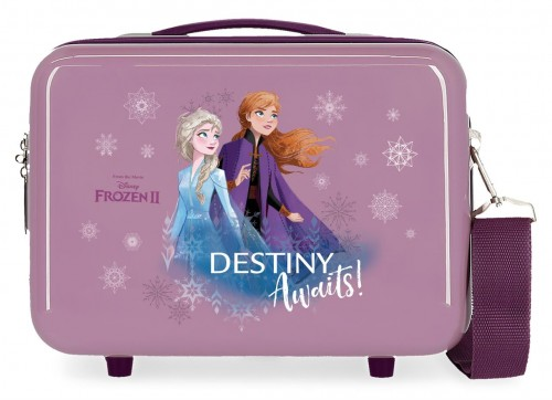 2553961 neceser abs adaptable frozen II con asa y bandolera destiny awaits