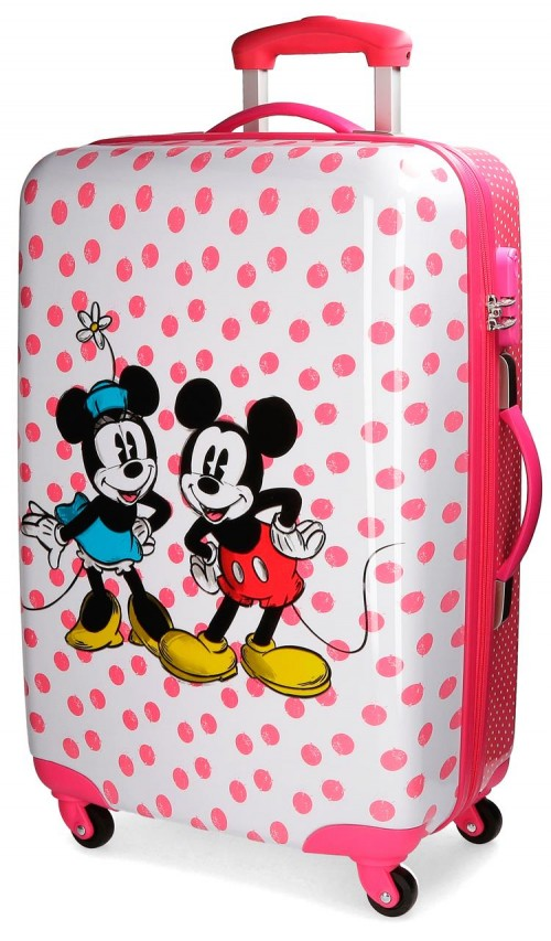 3091861 trolley mediano 4 ruedas mickey & minnie