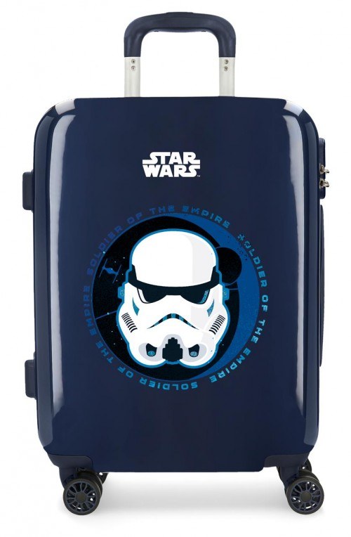 3718761 maleta de cabina star wars troopers marino