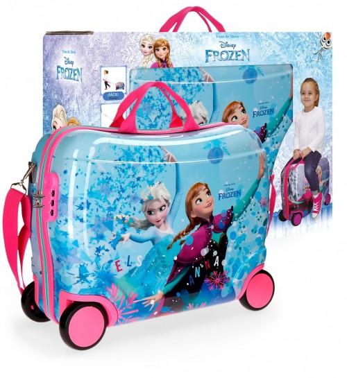 41999C1 maleta infantil 4 ruedas frozen star