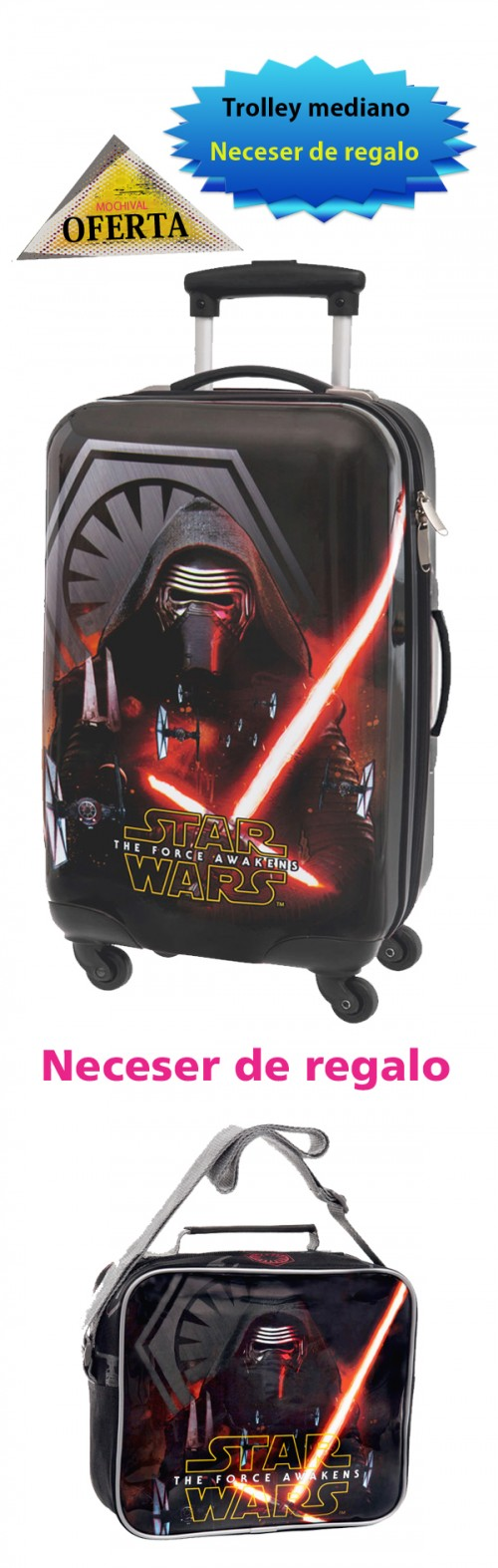 4391461 TROLLEY MEDIANO STAR WARS