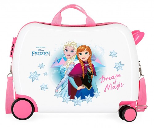 4729861 Maleta Infantil correpasillos Ruedas Multidireccionables frozen dream of magic
