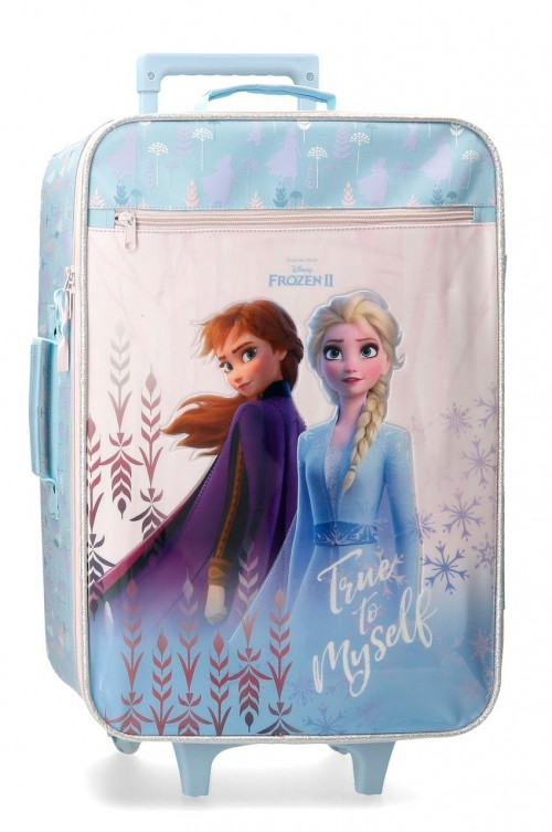 4769061 maleta blanda de cabina 50 cm true to myself  frozen