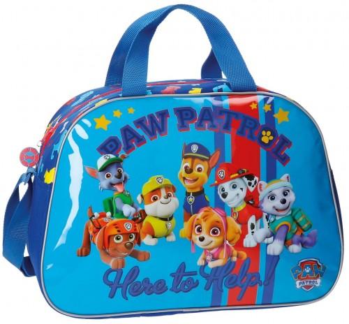 4863251 bolsa viaje paw patrol here to help