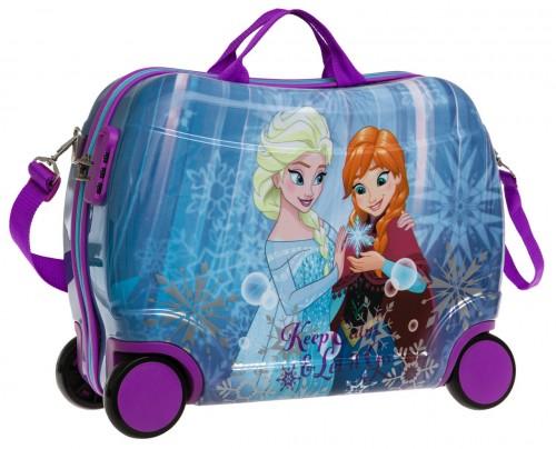 Maleta Infantil Frozen Keep Calm 2519951 4 Ruedas