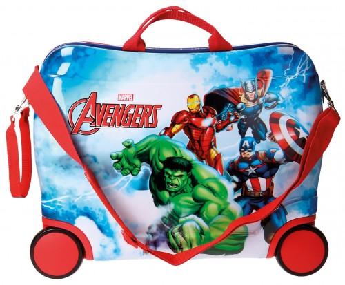 2119961 maleta infantil 4 ruedas avengers clouds