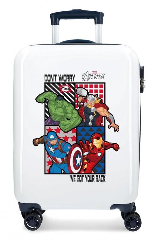 2471761 maleta de cabina all avengers 4 ruedas