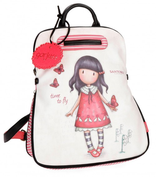 3132261 Mochila Urbana Gorjuss de 38 cm Time To Fly