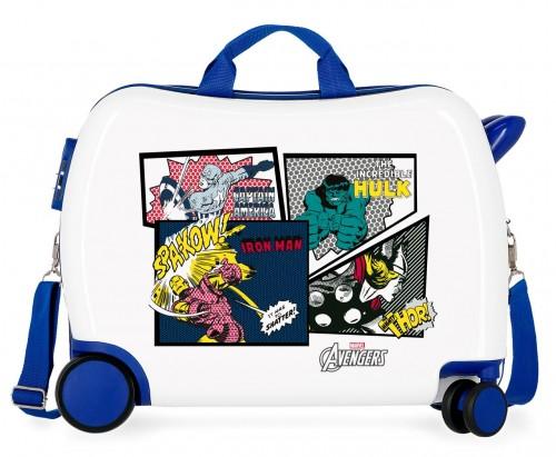 4679861 maleta infantil ruedas multidireccionables sky avengers