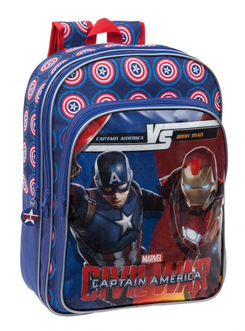 47224A1 Mochila Capitán América Civil War