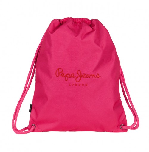 6343852   Gym Sac Pepe Jeans Plain Color Fucsia